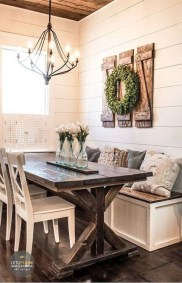 Rustic Farmhouse Table Ideas To Use In The Decor 03
