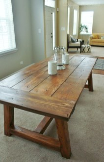 Rustic Farmhouse Table Ideas To Use In The Decor 07