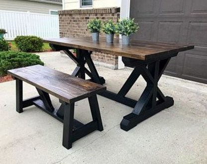 Rustic Farmhouse Table Ideas To Use In The Decor 08