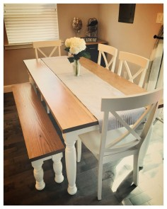 Rustic Farmhouse Table Ideas To Use In The Decor 13