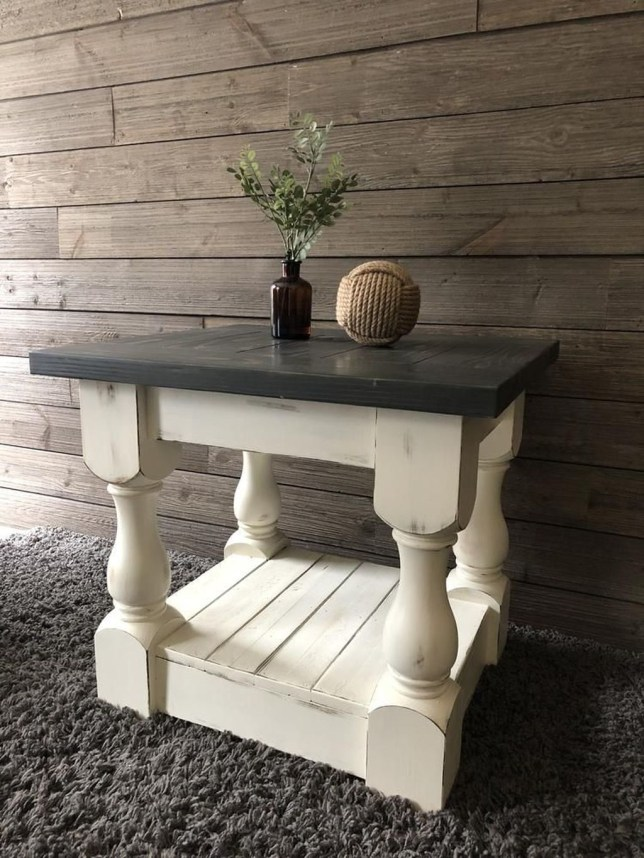 Rustic Farmhouse Table Ideas To Use In The Decor 36