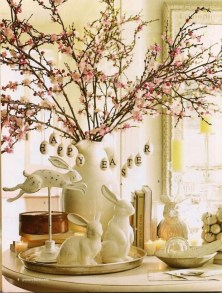 Stunning Easter Home Decoration Ideas That Everyone Will Love This Spring 05