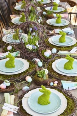 Superb Easter Indoor Decoration Ideas For Your Home 07