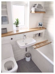 Unordinary Bathroom Design Ideas With Stunning Wood Shades 05