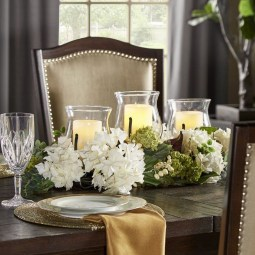 Adorable Spring Centerpieces Ideas For Dining Room Decor 04