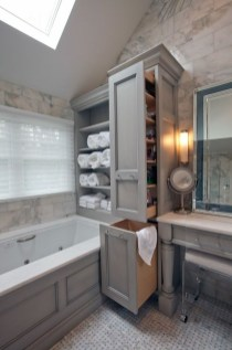 Astonishing Bathroom Design Ideas With Amazing Storage 11