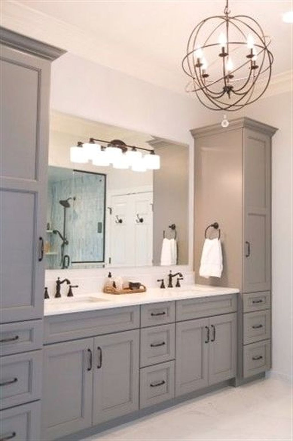 Astonishing Bathroom Design Ideas With Amazing Storage 31