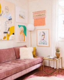 Cute Pastel Living Room Design Ideas That You Should Have 13