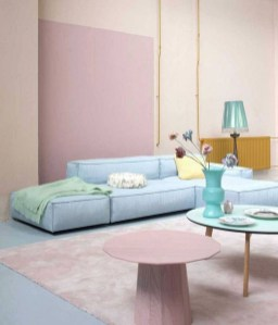 Cute Pastel Living Room Design Ideas That You Should Have 32