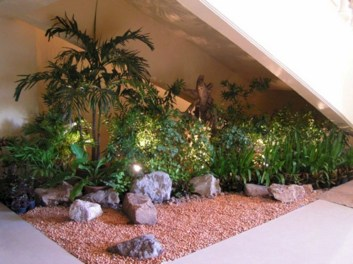 Elegant Indoor Rock Garden Ideas That Can Enhance Your Home Style 04