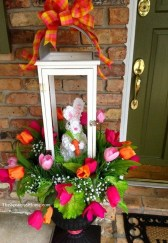 Gorgeous Outdoor Easter Decorations To Bedeck Your House In Style 42