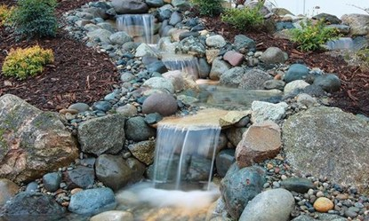 Innovative DIY Backyard Waterfall Ideas To Beautify Your Home Garden 11