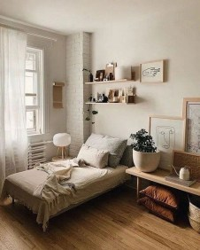 Minimalist And Simple Bedroom Decor Ideas That You Should Try 04