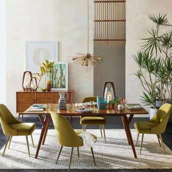 Modern Dining Room Design Ideas That Are Comfortable 07