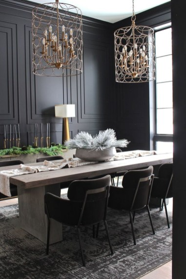 Modern Dining Room Design Ideas That Are Comfortable 10