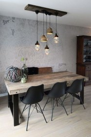 Modern Dining Room Design Ideas That Are Comfortable 17