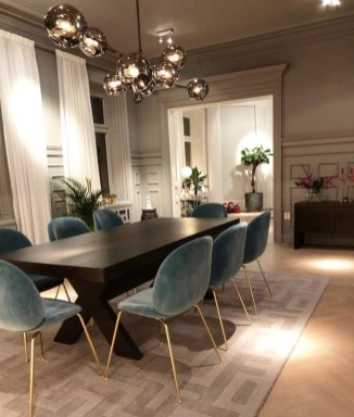 Modern Dining Room Design Ideas That Are Comfortable 30