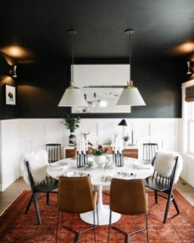 Modern Dining Room Design Ideas That Are Comfortable 38