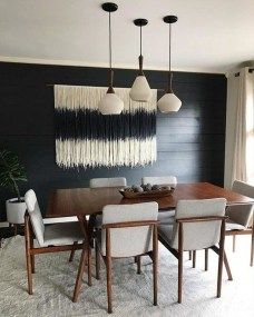 Modern Dining Room Design Ideas That Are Comfortable 41
