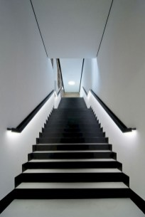 Perfect Home Stair Design With Light That Very Beautiful 12