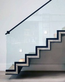 Perfect Home Stair Design With Light That Very Beautiful 22