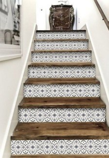 Perfect Home Stair Design With Light That Very Beautiful 26