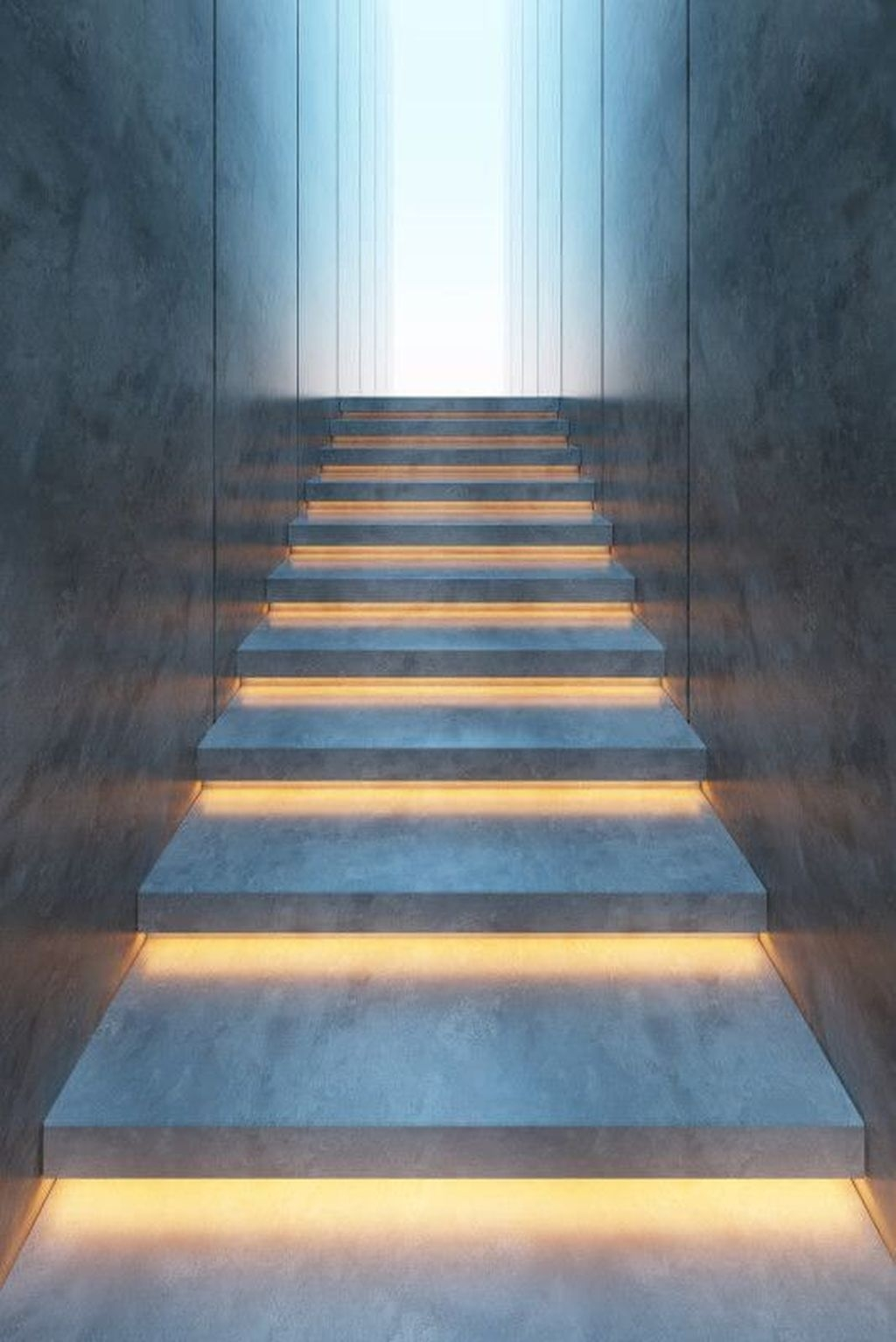 Perfect Home Stair Design With Light That Very Beautiful 47