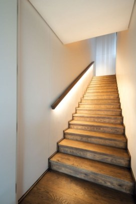 Perfect Home Stair Design With Light That Very Beautiful 50