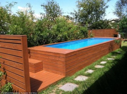 Simple Tiny Swimming Pool Ideas For Stunning Small Backyard 01
