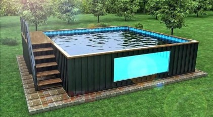 Simple Tiny Swimming Pool Ideas For Stunning Small Backyard 03