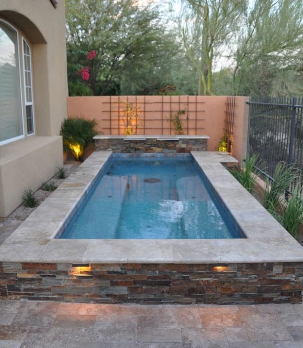Simple Tiny Swimming Pool Ideas For Stunning Small Backyard 38