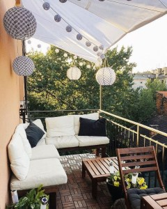 Small Balcony Ideas For A Relaxing Place Get Rid Of Saturation 22