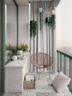 Small Balcony Ideas For A Relaxing Place Get Rid Of Saturation 34