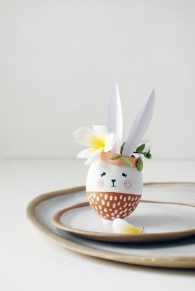 Superb Easter Table Decoration Ideas To Give Your Tablescape A Festive Vibe 08