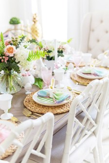 Superb Easter Table Decoration Ideas To Give Your Tablescape A Festive Vibe 10