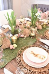 Superb Easter Table Decoration Ideas To Give Your Tablescape A Festive Vibe 29