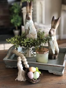 Superb Easter Table Decoration Ideas To Give Your Tablescape A Festive Vibe 51