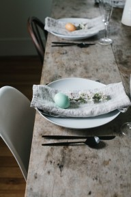 Superb Easter Table Decoration Ideas To Give Your Tablescape A Festive Vibe 54