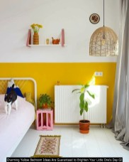 Charming Yellow Bedroom Ideas Are Guaranteed To Brighten Your Little One's Day 02