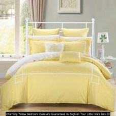 Charming Yellow Bedroom Ideas Are Guaranteed To Brighten Your Little One's Day 03