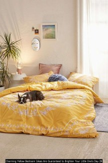 Charming Yellow Bedroom Ideas Are Guaranteed To Brighten Your Little One's Day 28
