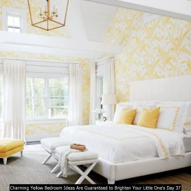 Charming Yellow Bedroom Ideas Are Guaranteed To Brighten Your Little One's Day 37