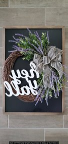 Clever DIY Minimalist Wreaths Guaranteed To Dress Up Your Home 12