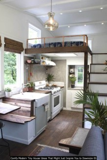 Comfy Modern Tiny House Ideas That Might Just Inspire You To Downsize 05