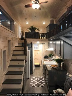 Comfy Modern Tiny House Ideas That Might Just Inspire You To Downsize 13