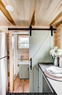 Comfy Modern Tiny House Ideas That Might Just Inspire You To Downsize 14