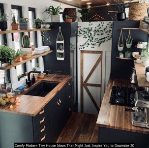 Comfy Modern Tiny House Ideas That Might Just Inspire You To Downsize 20