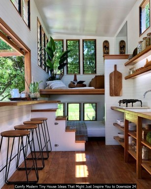 Comfy Modern Tiny House Ideas That Might Just Inspire You To Downsize 24
