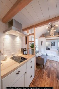 Comfy Modern Tiny House Ideas That Might Just Inspire You To Downsize 30
