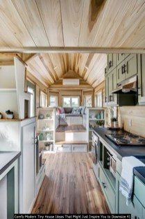 Comfy Modern Tiny House Ideas That Might Just Inspire You To Downsize 41